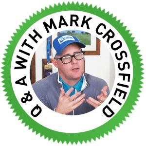 Mark Crossfield Q&A, How to deal with 1st Tee Wobbles