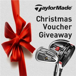 TaylorMade Christmas Voucher Giveaway