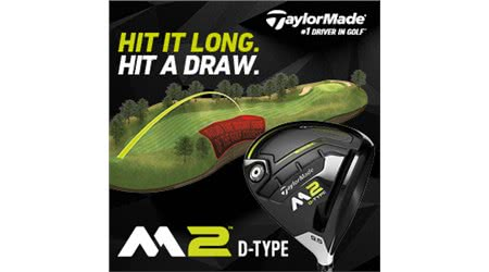 TaylorMade's New M2 D-Type Driver Perfectly Engineered for the Slicer