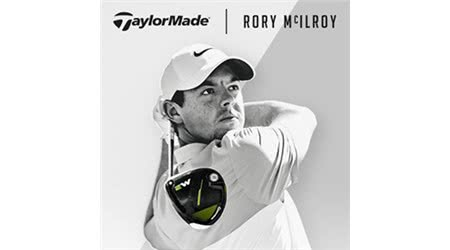 Rory McIlroy Joins the TaylorMade FaMily