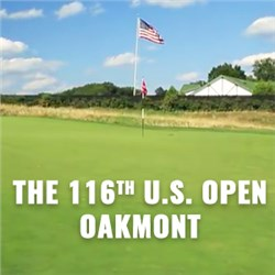 Oakmont Promises One Hot U.S. Open