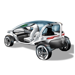 Mercedes-Benz Unveils the Ultimate Dream with their Vision Golf Cart