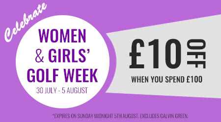 GolfOnline's Special Offer for Women and Girls Golf Week