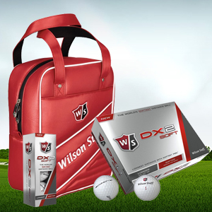 Win a Wilson Practice Ball Bag full of DX2 Soft Balls