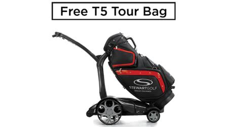 Claim a T5 Tour Bag with X9 Follow Trolley for FREE
