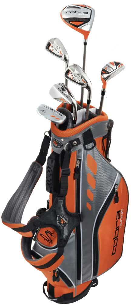 cobra juniors gotime golf package set 5 8 years golfonline. Black Bedroom Furniture Sets. Home Design Ideas