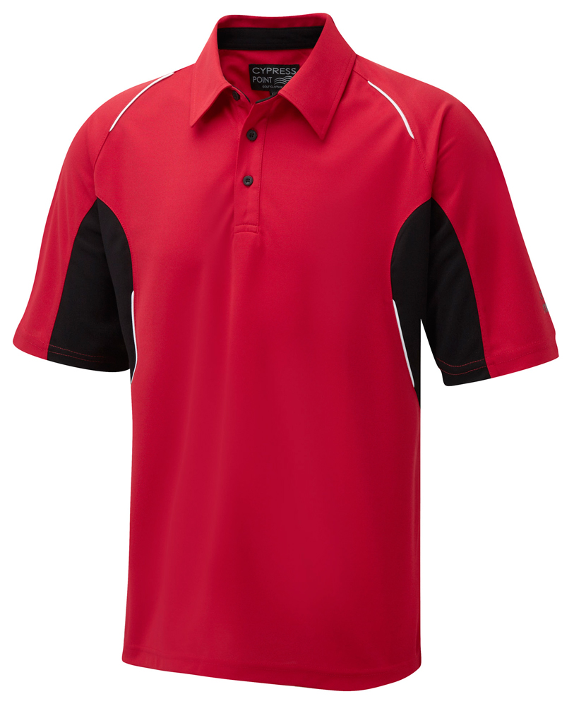 Cypress point mens coolpass cut and sew polo shirt 2014 for Expensive polo shirt brands