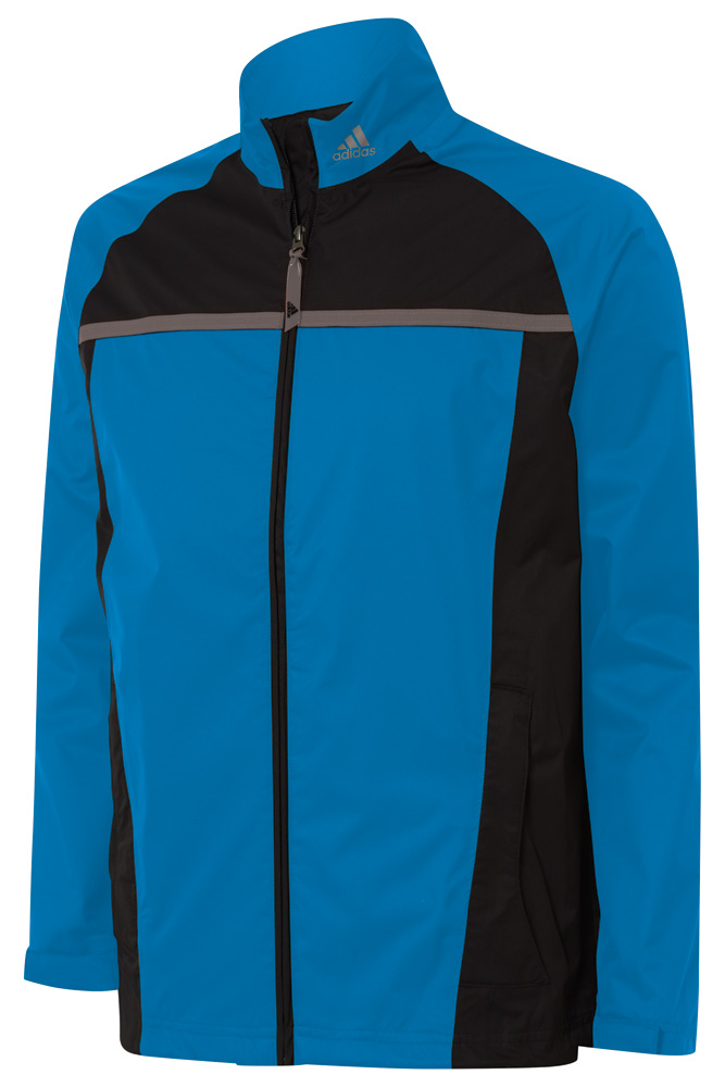 Adidas mens climastorm essential packable rain jacket for Adidas golf rain shirt