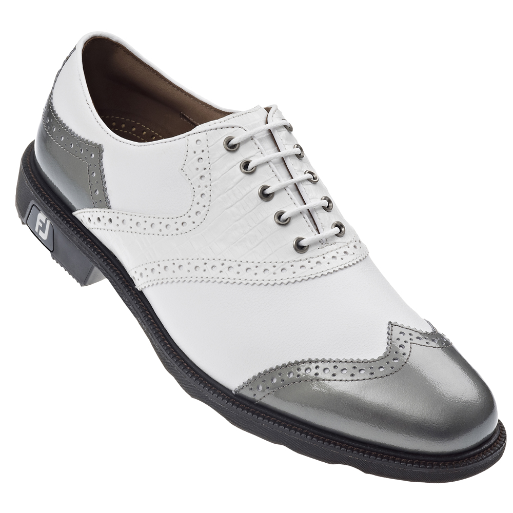 Fj Icon Black Golf Shoes