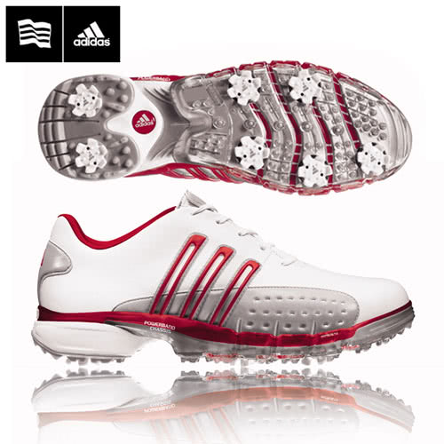 Adidas Powerband Golf Shoes Red