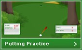 Golf Online's Putting Practice Game