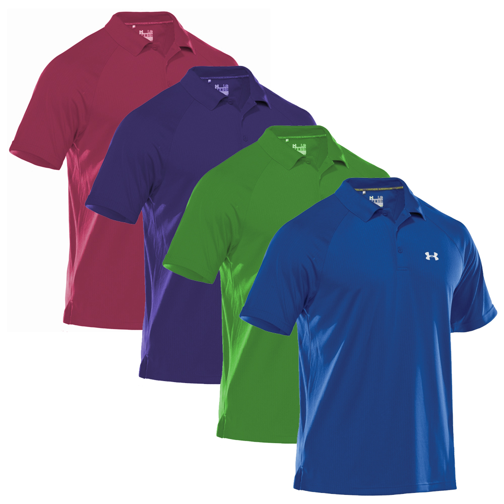 Under Armour Mens Catalyst Textured Polo 2012 Golfonline