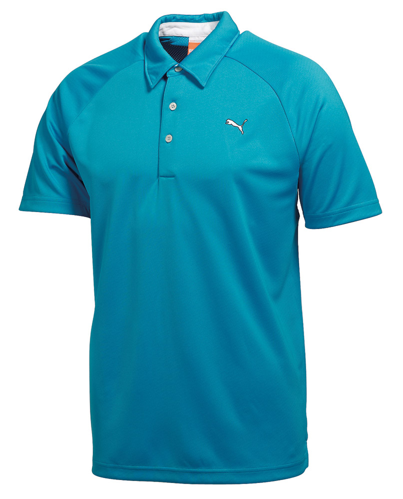 Puma mens performance polo shirt golfonline for Mens puma golf shirts