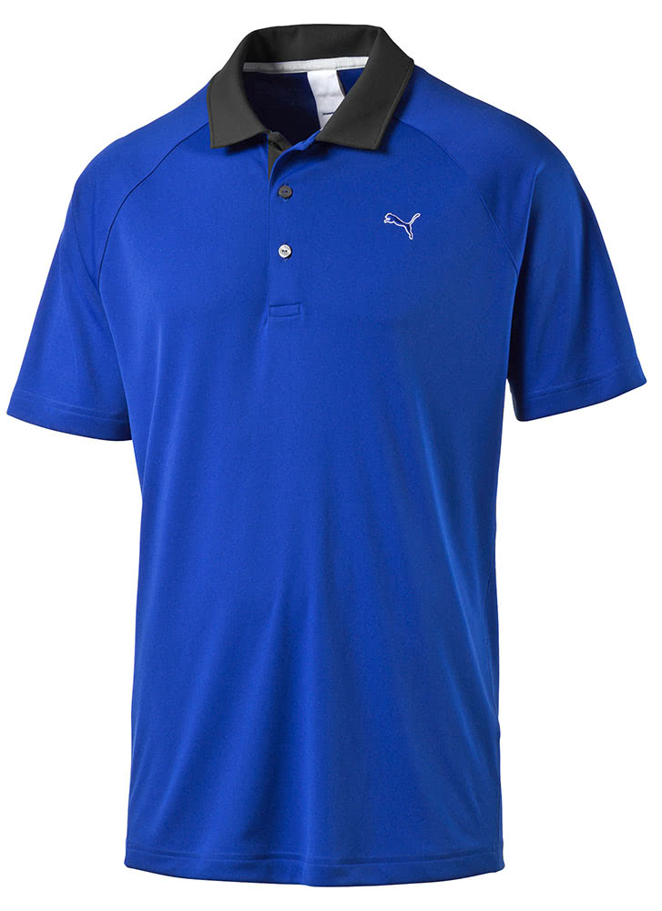 Puma golf mens d vent short sleeve polo shirt golfonline for Mens puma golf shirts