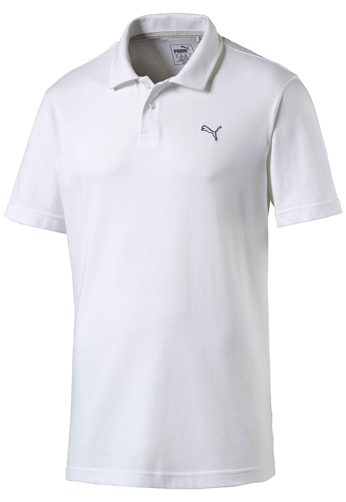 Puma golf mens cool touch polo shirt golfonline for Mens puma golf shirts