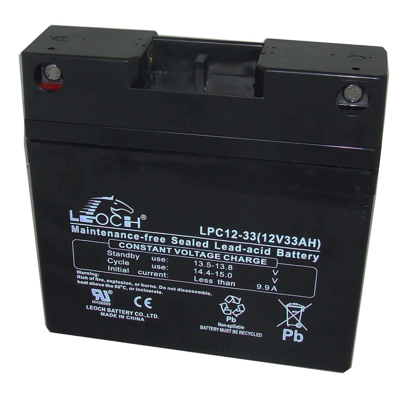 Battery - 28Ah Standard (Leoch)