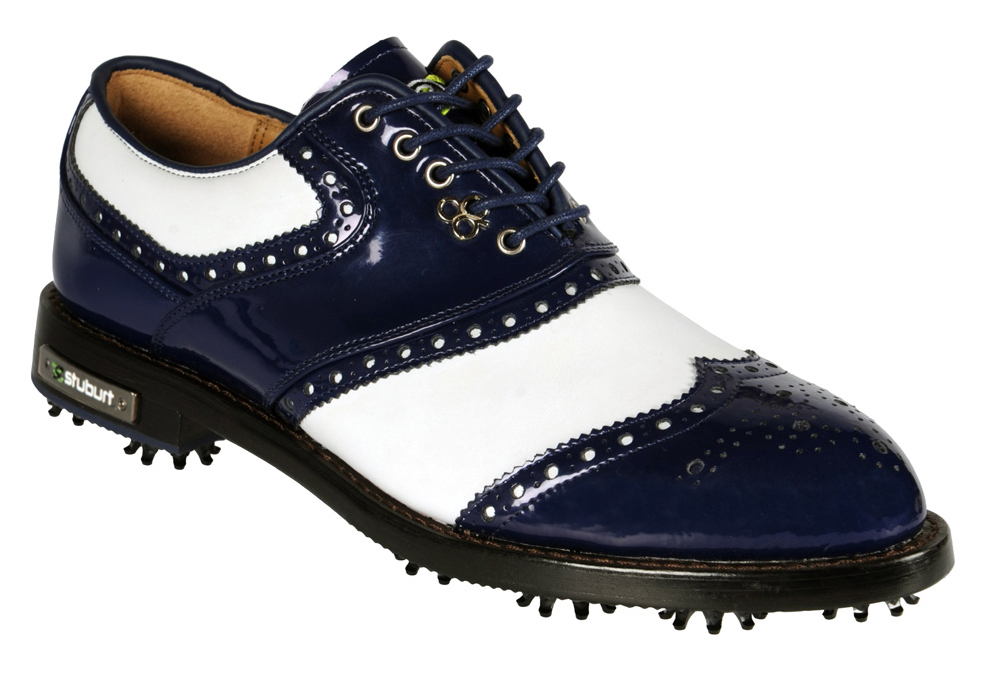 British Leather Golf Shoes