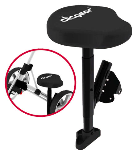 Clicgear Seat Review Clicgear Trolley Attachable Seat